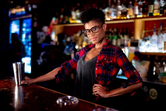 Whitney Scott, bartender at Preservation Pub in Market Square in downtown Knoxville.