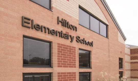 Hilton Elementary School was evacuated Friday, Nov. 1, 2019 due to a small electrical fire, according to authorities.
