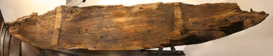 The oldest known dugout in the Great Lakes region was discovered submerged in a cranberry bog in Kenoshaand is estimated to be more than 2,000 years old. It now resides in the Kenosha Public Museums.