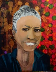 'Chandra's Grace' by Lakeshore Artist Guild member Chrisje Sanders.