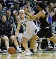 UW-Green Bay guard Frankie Wurtz (3) averaged a team-high 10.5 points as a junior last season.