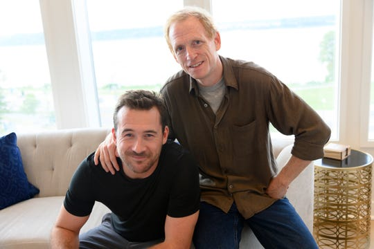 """American Epidemic"" Episode 107: Scott Shepherd as George Bell and Barry Sloane as Jake Reilly"
