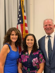 The Democratic ticket for three council seats in the 2019 election: from left, Judy Hernandez, Cori Herbig and Rob Kaminski