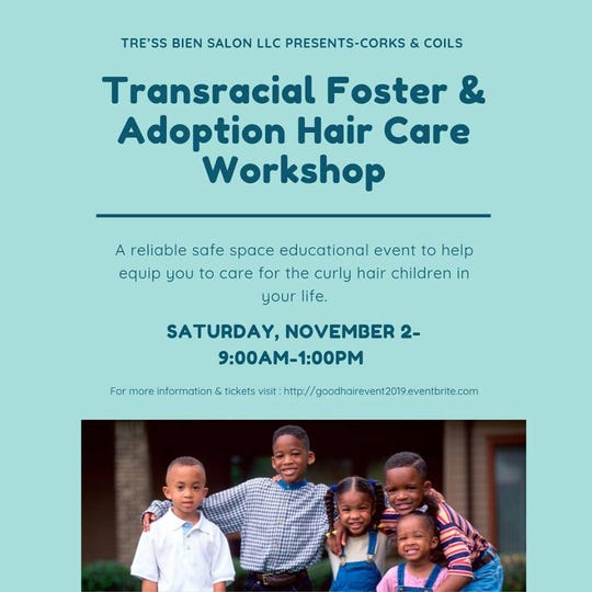 The event is Saturday, November 2.