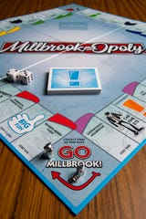 The MillbrookOpoly board game.