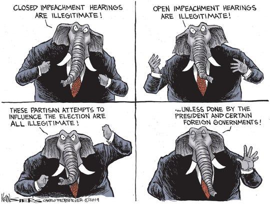 GOP on impeachment.