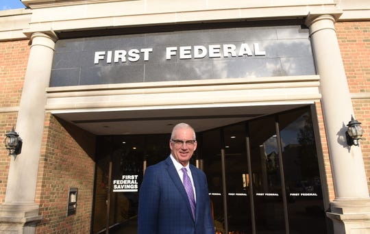 Paul Thompson, president and CEO of First Federal Savings & Loan, dreamed of starring for the Cincinnati Reds as a kid, but has found a new passion in community banking with First Federal.