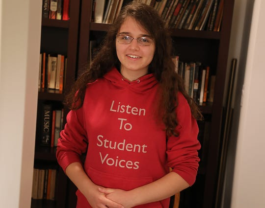 Raisa Rubin-Stankiewicz is a 17-year-old activist and student at Princeton High School who supports lowering the voting age to 16.
