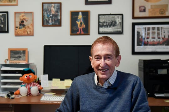 Bob McGrath is interviewed in his Norwood home on Friday, Nov. 1, 2019. Sesame Street is celebrating it's 50th anniversary this November.