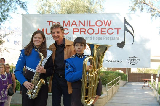 The Best Philanthropist is Barry Manilow.