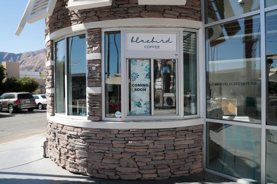 Bluebird Coffee will soon operate inside Lighthouse Dispensary on Friday, November 1, 2019 in Palm Springs, Calif.
