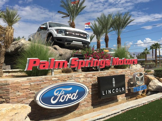 The Best Auto Dealer is Palm Springs Ford-Lincoln-Mazda.