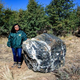 Wizard Rock, a 1-ton boulder in Prescott National Forest, was returned on Nov. 1, 2019 after being reported missing in October. Geologist Frances Alvarado confirmed the identity of the rock after it was returned.