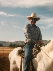 """Ron Watson'slooks and kind demeanor landed him interviews from reporters looking for a""""classic cowboy-looking man to talk about horses,"""" Tamara said in an interview with The Arizona Republic."""