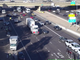 A crash involving a semitruck blocks lanes on eastbound Interstate 10 at 16th Street in Phoenix on Nov. 2,  2019.