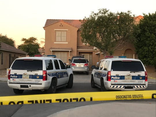 Five people were shot outside a Phoenix home on Nov. 1, 2019.