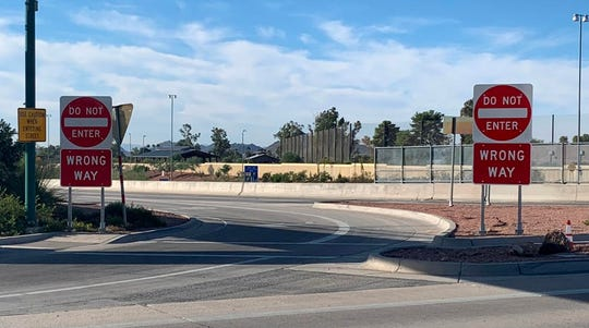 Hundreds of larger, lower wrong-way signs are part of ADOT's $2.1 million project to prevent drivers from traveling in the wrong direction on Phoenix-area freeways.