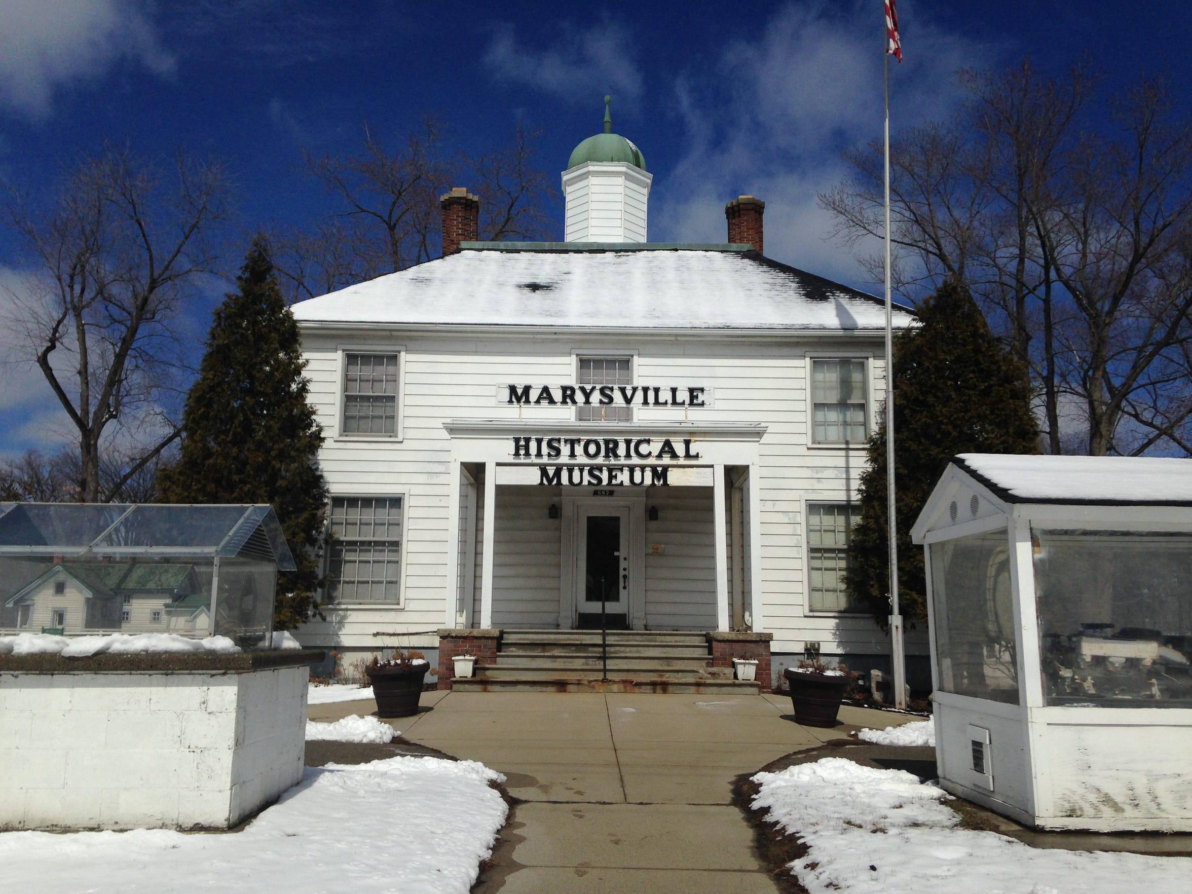 The Marysville Historical Museum, pictured more than four years ago, is housed in the old city hall building  at Marysville City Park, but it isn't regularly open. Officials are expected to consider its future during spring budget talks in 2020.