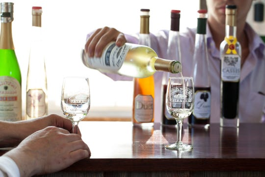 Clinton Vineyards offers tastings of its estate-bottled Seyval Blanc and Cassis, which can be a local addition to your holiday table.