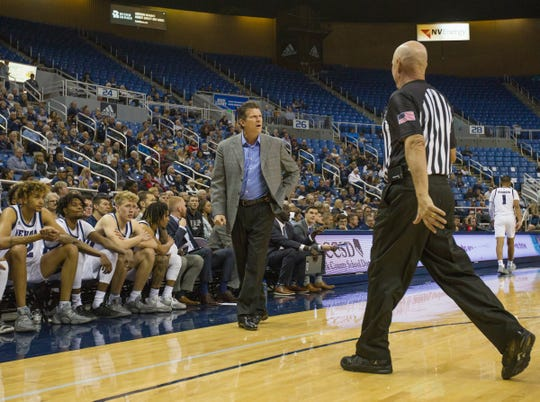 Nevada basketball has won 18 straight games at Lawlor Events Center.