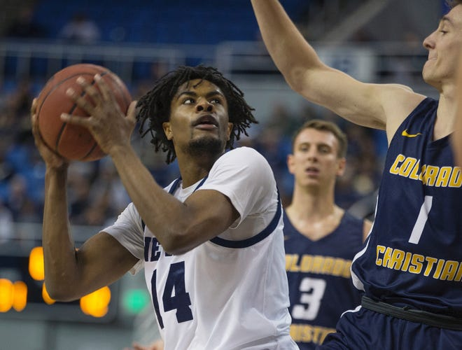 Lindsey Drew and his Wolf Pack teammates begin the Paradise Jam tournament on Friday.