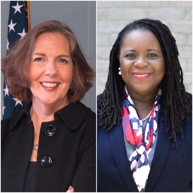 Sandra Doorley, (left) and Shani Curry Mitchell, (right).
