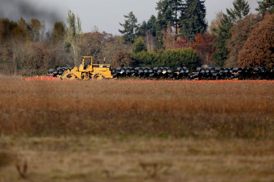 A project underway for 659 single-family units and a 36-unit multi-family residential units at Cordon Rd. NE and State St. in Salem on Oct. 31, 2019.