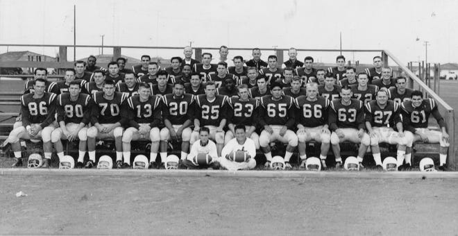 Hartnell College 1960 football team was a 2019 Athletics Hall of Fame.