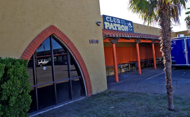 Club El Patron, seen here in this Friday, Nov. 1, 2019 photo, was the scene of a drive-by shooting early Friday, Nov. 1, 2019.