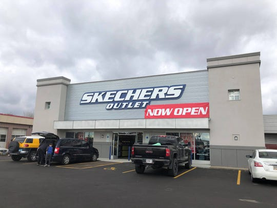 A Skechers outlet store on West 41st Street is now open.