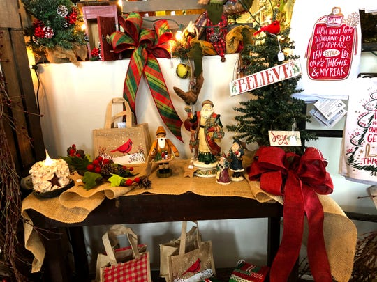 A new Christmas shop has opened at the Fishersville Lunch Box & Market on Long Meadow Road.