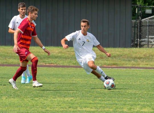 Marcos Sasia has had a solid freshmen season for Mary Baldwin University.