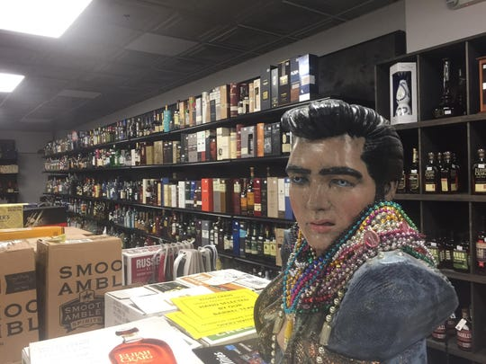 "The owners of Market Square Liquors altered customers to its reopening on Facebook by posting, ""Elvis is back in the building."""
