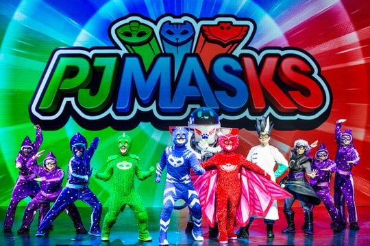 See PJ Masks Live on Saturday, Nov. 16.