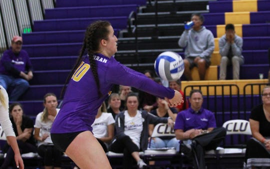Cal Lutheran libero Carly Rose Howard was named SCIAC Specialist of the Week this week as the Regals clinched their 11th straight SCIAC tournament berth.