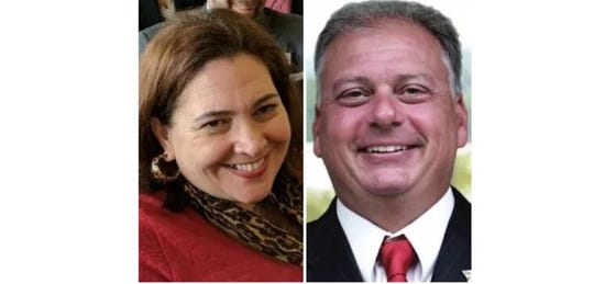 Westchester County Legislator Catherine Borgia faces a challenge from Robert Outhouse in the 2019 election.