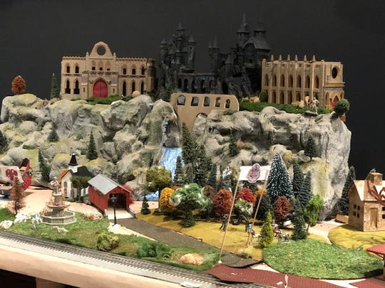 "Jim Hughes' model train collection at ""The Art Express"" will be on display through Jan. 11, 2020 at the Wichita Falls Museum of Art at MSU."