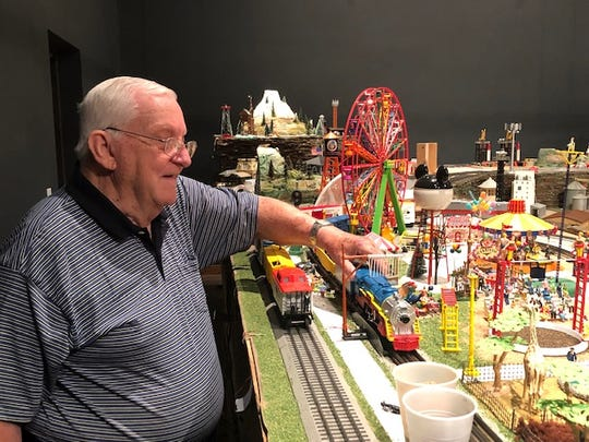 Massive model train display in Wichita Falls started as a family project in 1941