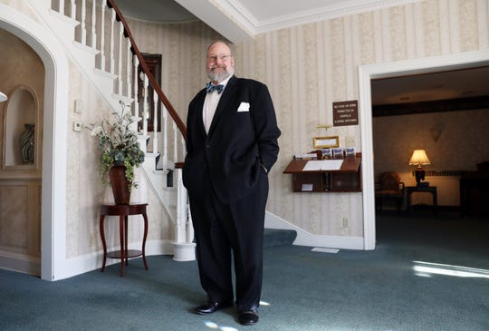 Tim Combs trained to be a chef, but felt a calling to be a funeral director. Now he is co-owner and funeral director at Hillis, Combs & Nestor Funeral Home in Zanesville.