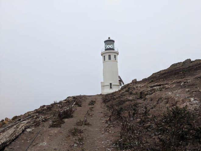 The Anacapa Island Lighthouse in Channel Islands National Park. So near, yet so far.