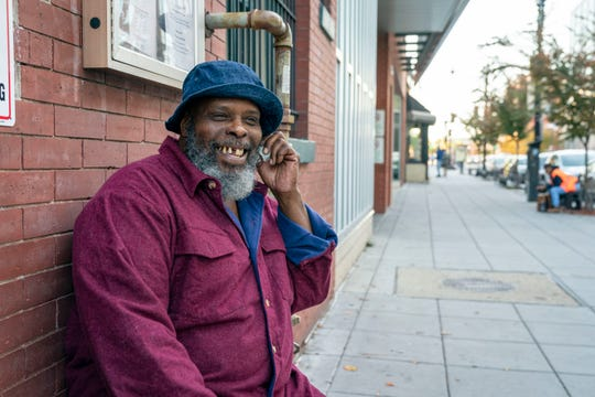 Leonard Edwards has a cellphone through a federal subsidy called Lifeline that is being cut back.