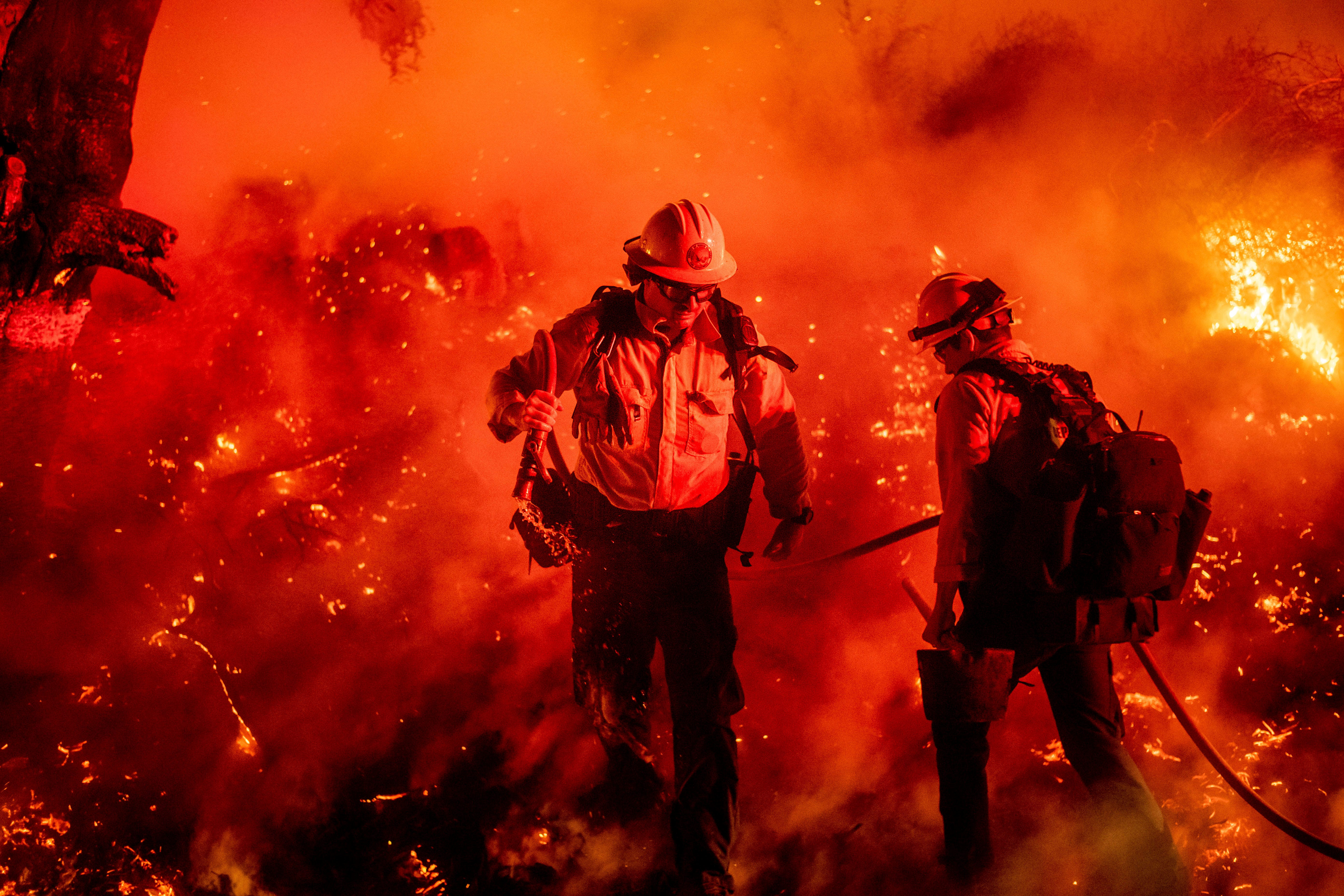 Northern California double-whammy: Amid blackouts, massive fire forces nearly 200,000 to flee homes