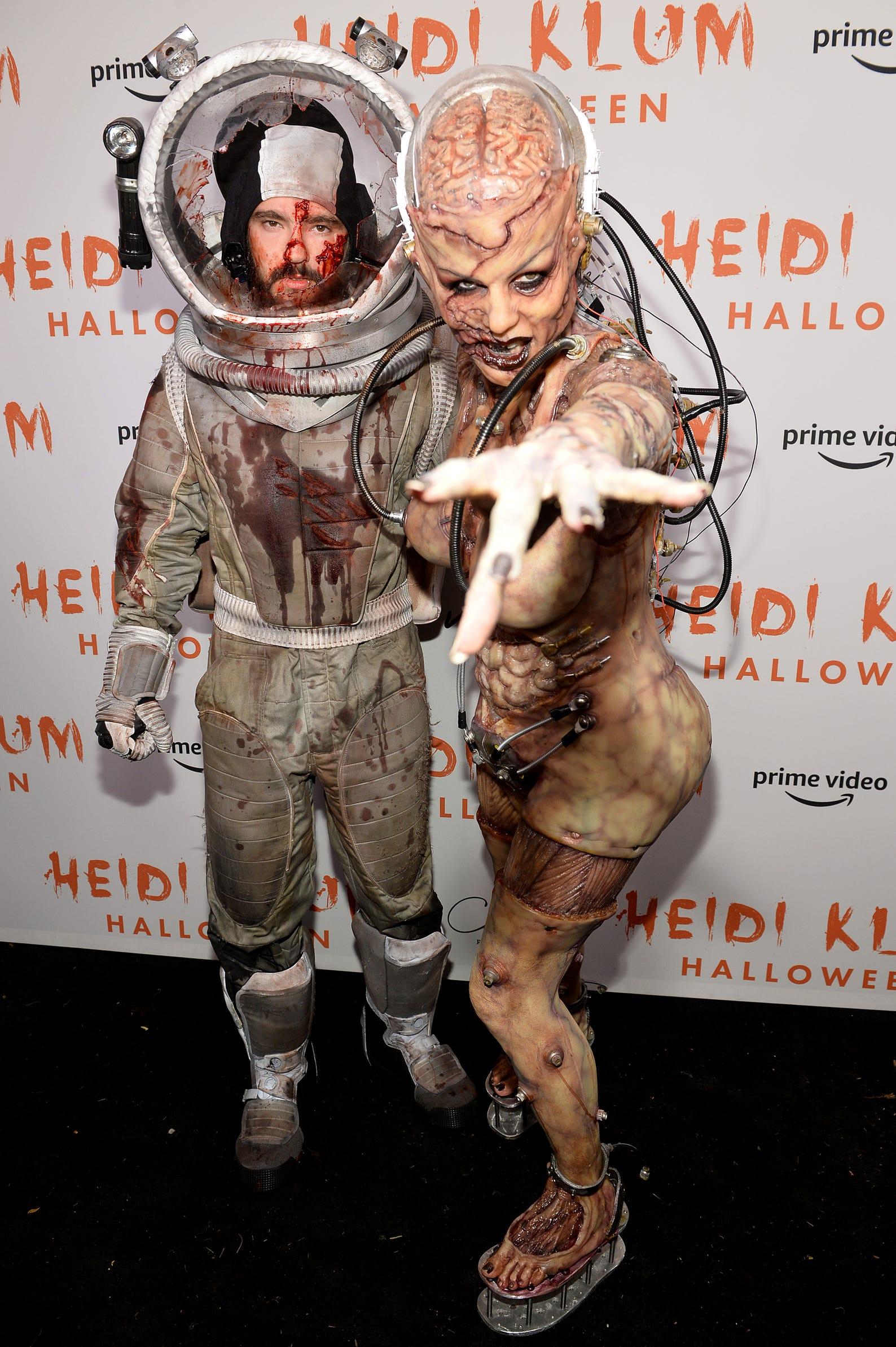 2020 Heidi Klum Halloween Costumes Heidi Klum's Halloween costume: See her best looks through the years