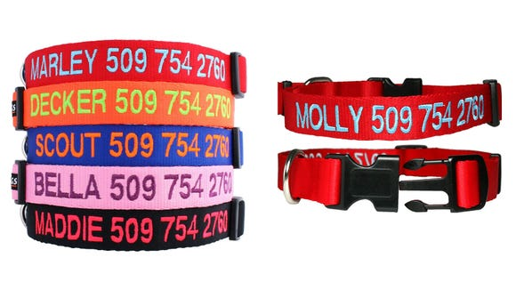 Best gifts for dogs 2019: GoTags Personalized Dog Collar