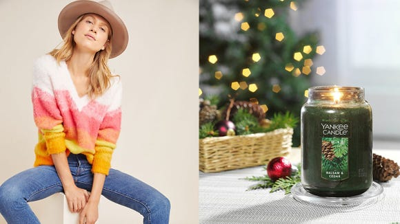 Get the coziest sweaters and candles for a great price with these sales.