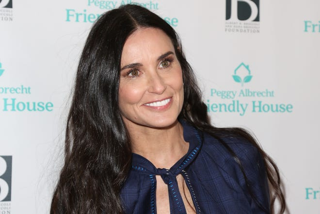 """Demi Moore and her three daughters came on the """"Red Table Talk"""" and discussed her former substance abuse struggles."""
