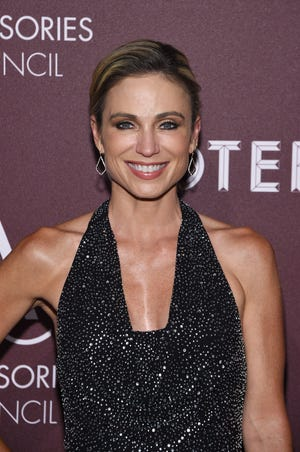Amy Robach is running the NYC Marathon on Sunday.