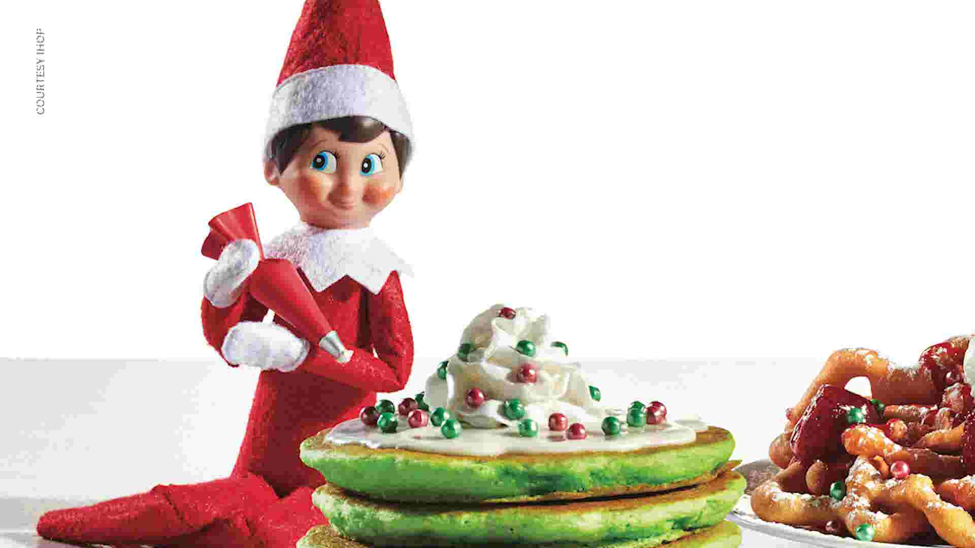 IHOP partnered with Elf on the Shelf