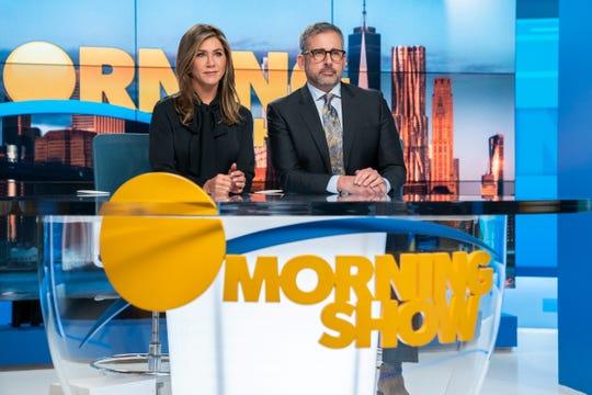 The Morning Show, Jennifer Aniston, Steve Carrell