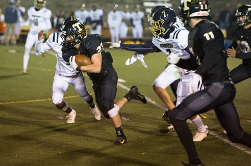 T.C. Roberson defeated Tuscola 31-0 at C.E. Weatherby Stadium on Nov. 1, 2019.